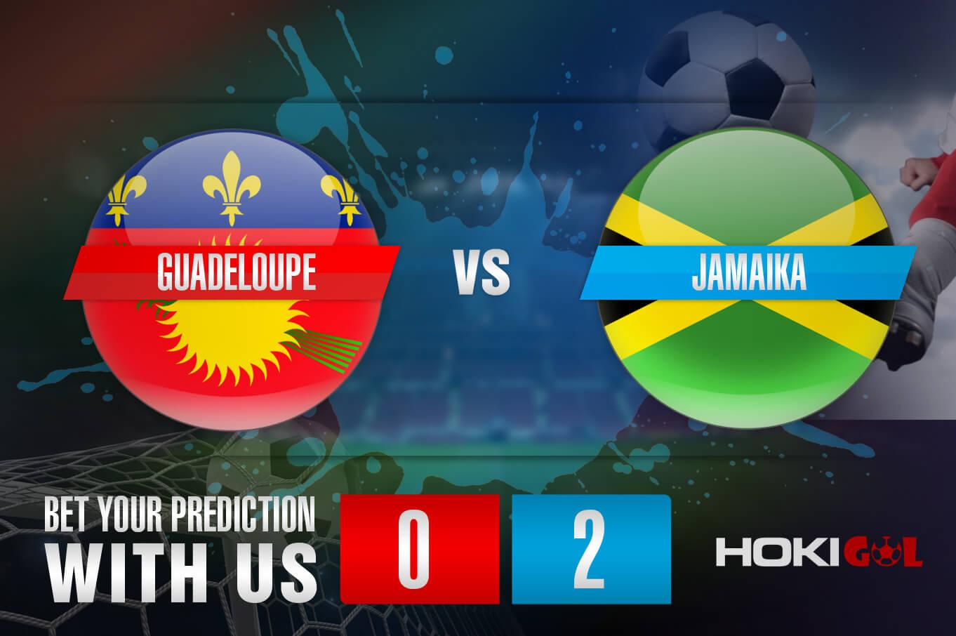 Prediksi Bola Guadeloupe Vs Jamaika 17 Juli 2021