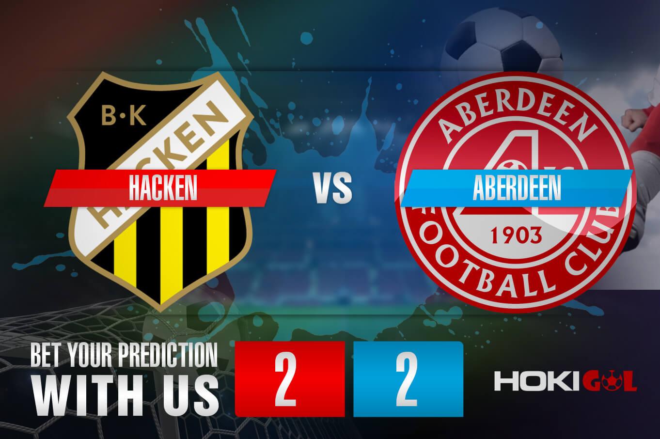 Prediksi Bola Hacken Vs Aberdeen 29 Juli 2021