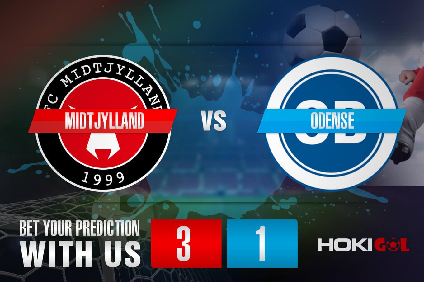 Prediksi Bola Midtjylland Vs Odense 17 Juli 2021