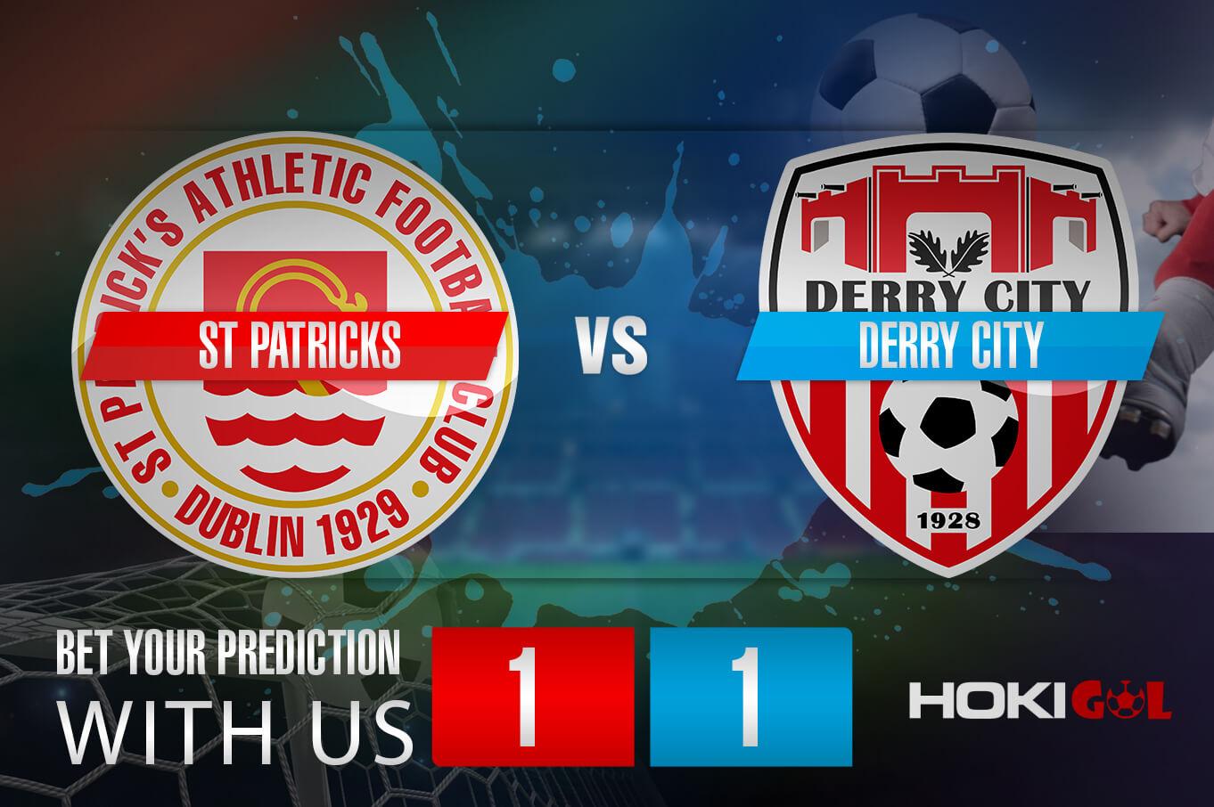 Prediksi Bola St Patricks Vs Derry City 10 Juli 2021