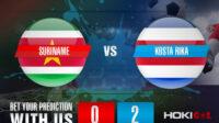 Prediksi Bola Suriname Vs Kosta Rika 17 Juli 2021
