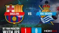 Prediksi Bola Barcelona Vs Real Sociedad 16 Agustus 2021