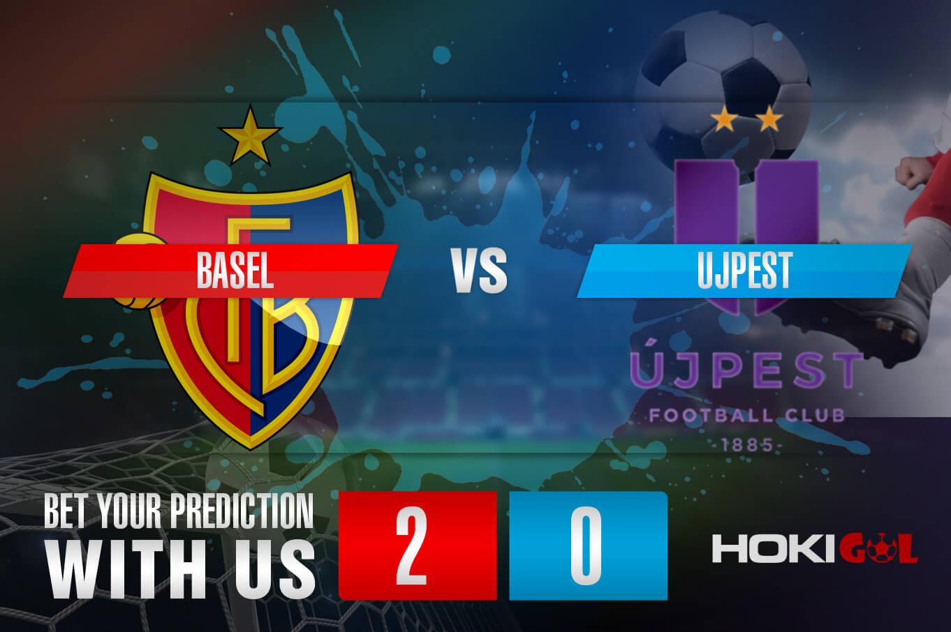 Prediksi Bola Basel Vs Ujpest 13 Agustus 2021