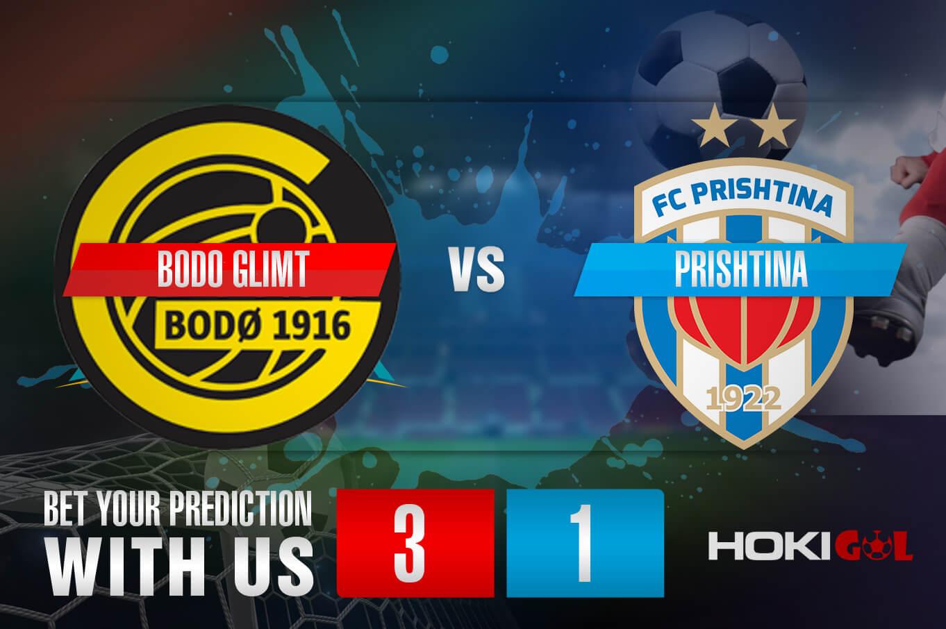 Prediksi Bola Bodo Glimt Vs Prishtina 12 Agustus 2021