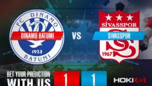 Prediksi Bola Dinamo Batumi Vs Sivasspor 6 Agustus 2021