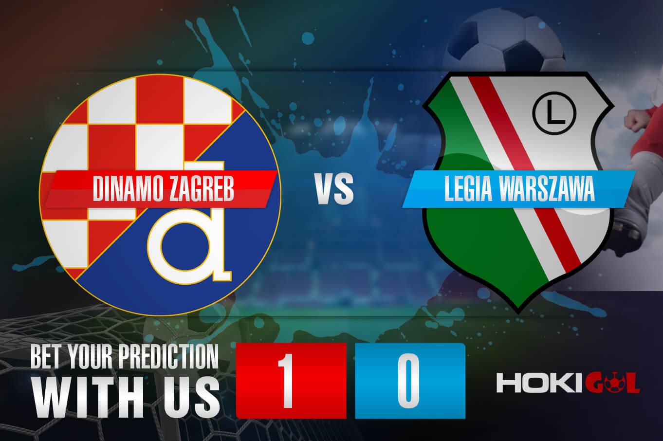 Prediksi Bola Dinamo Zagreb Vs Legia Warszawa 5 Agustus 2021