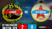 Prediksi Bola Elfsborg Vs Velez Mostar 5 Agustus 2021