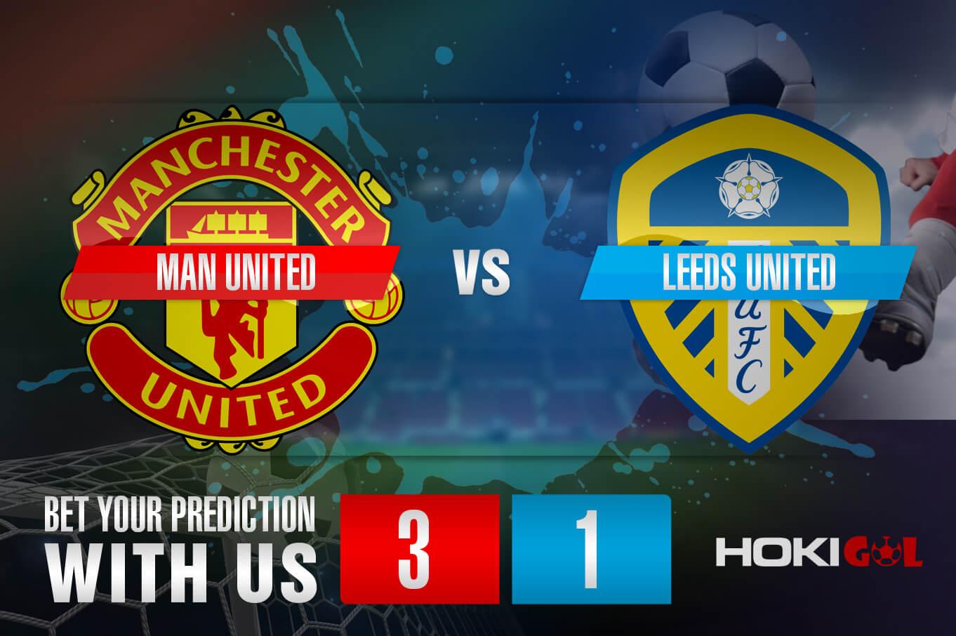 Prediksi Bola Man United Vs Leeds United 14 Agustus 2021
