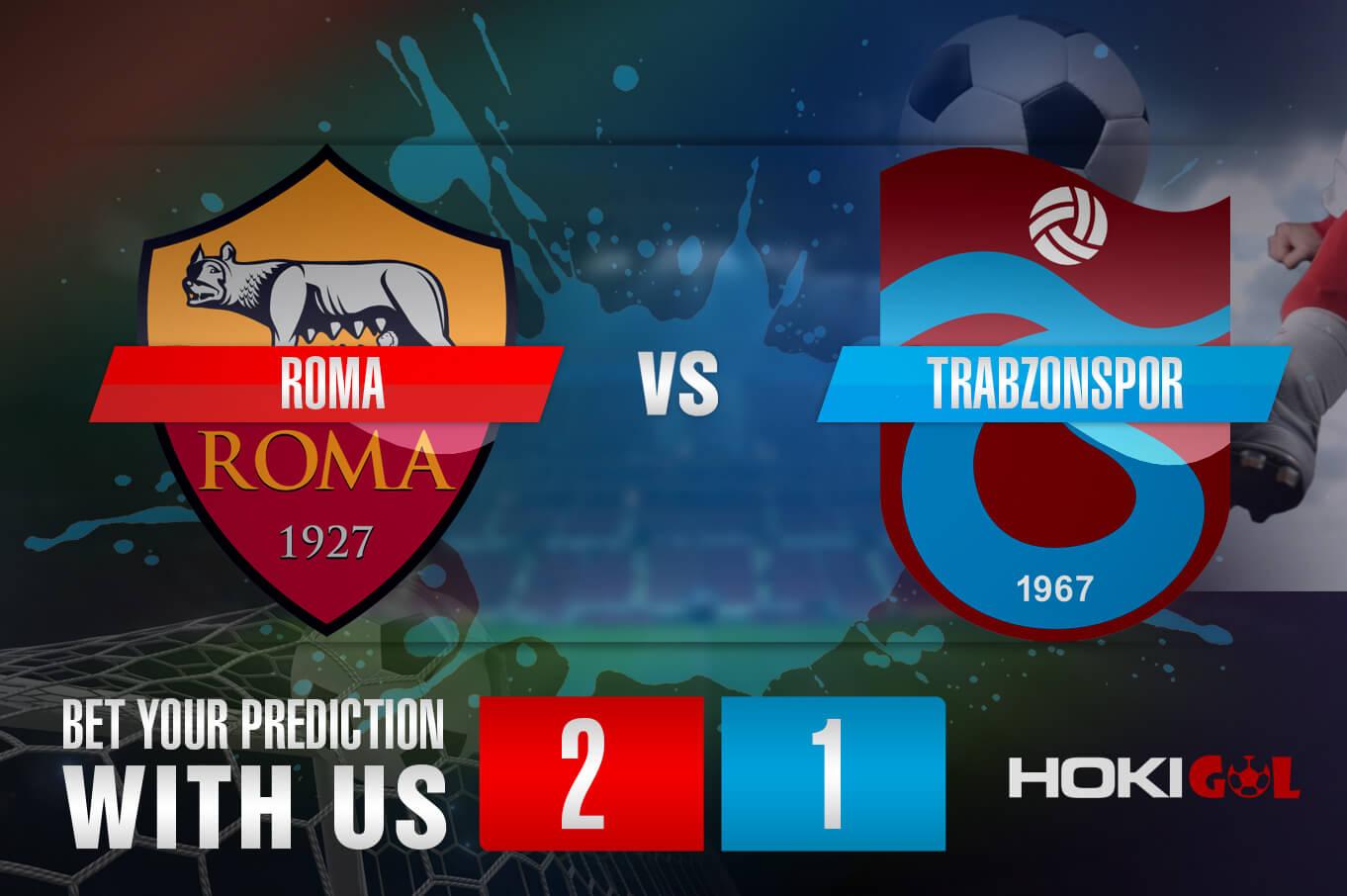 Prediksi Bola Roma Vs Trabzonspor 27 Agustus 2021