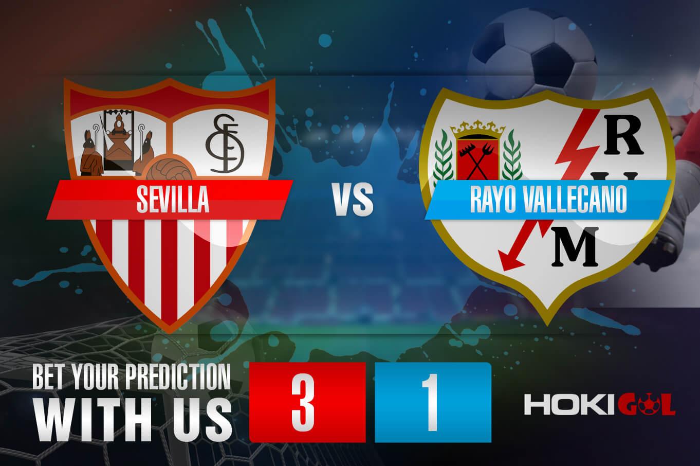 Prediksi Bola Sevilla Vs Rayo Vallecano 16 Agustus 2021
