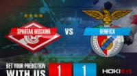 Prediksi Bola Spartak Moskwa Vs Benfica 5 Agustus 2021