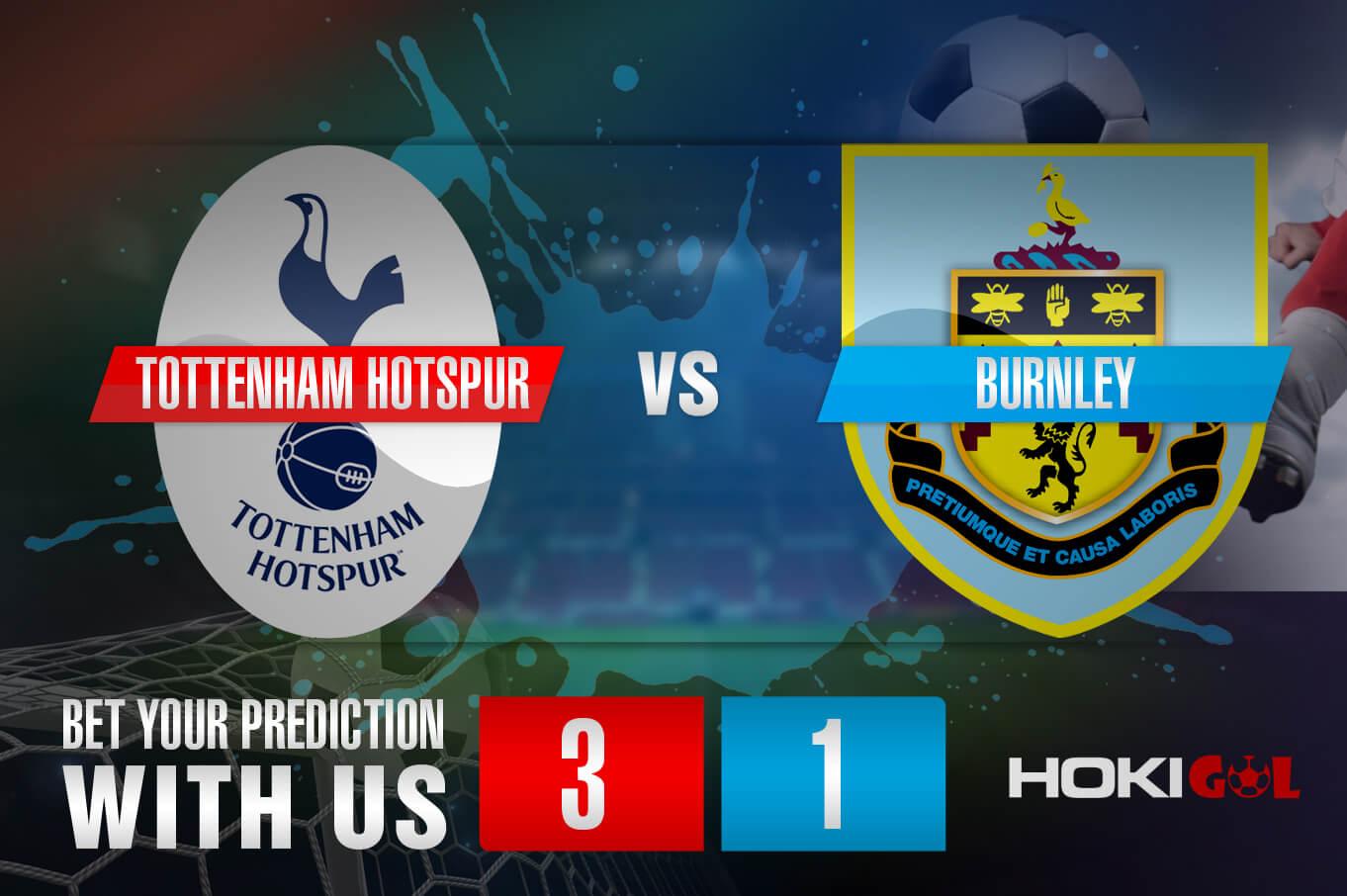 Prediksi Bola Tottenham Hotspur Vs Burnley 29 Agustus 2021