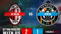 Prediksi Bola AC Milan Vs Venezia 23 September 2021