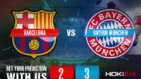 Prediksi Bola Barcelona Vs Bayern Munchen 15 September 2021