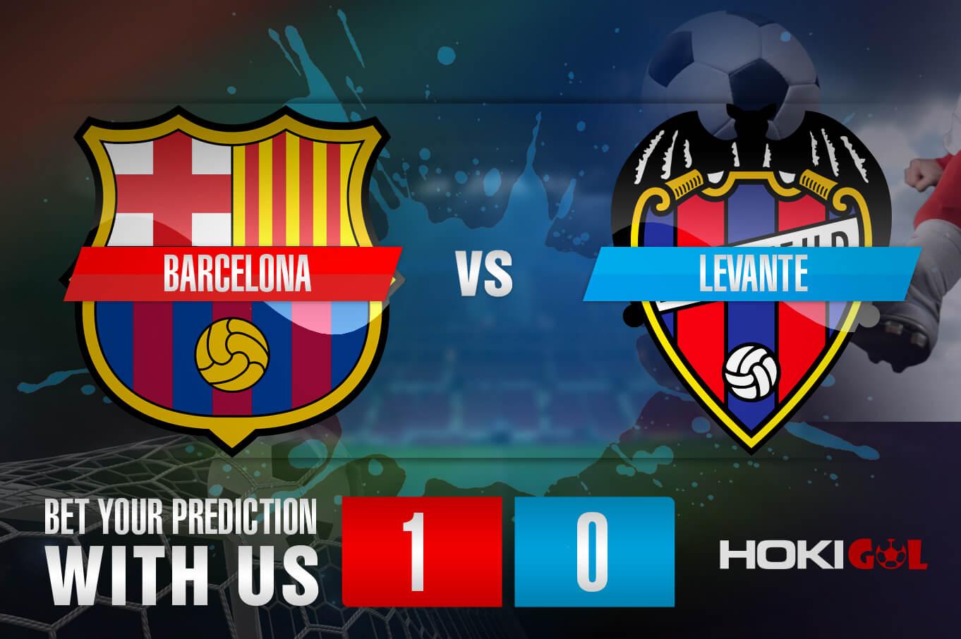 Prediksi Bola Barcelona Vs Levante 26 September 2021