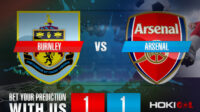 Prediksi Bola Burnley Vs Arsenal 18 September 2021