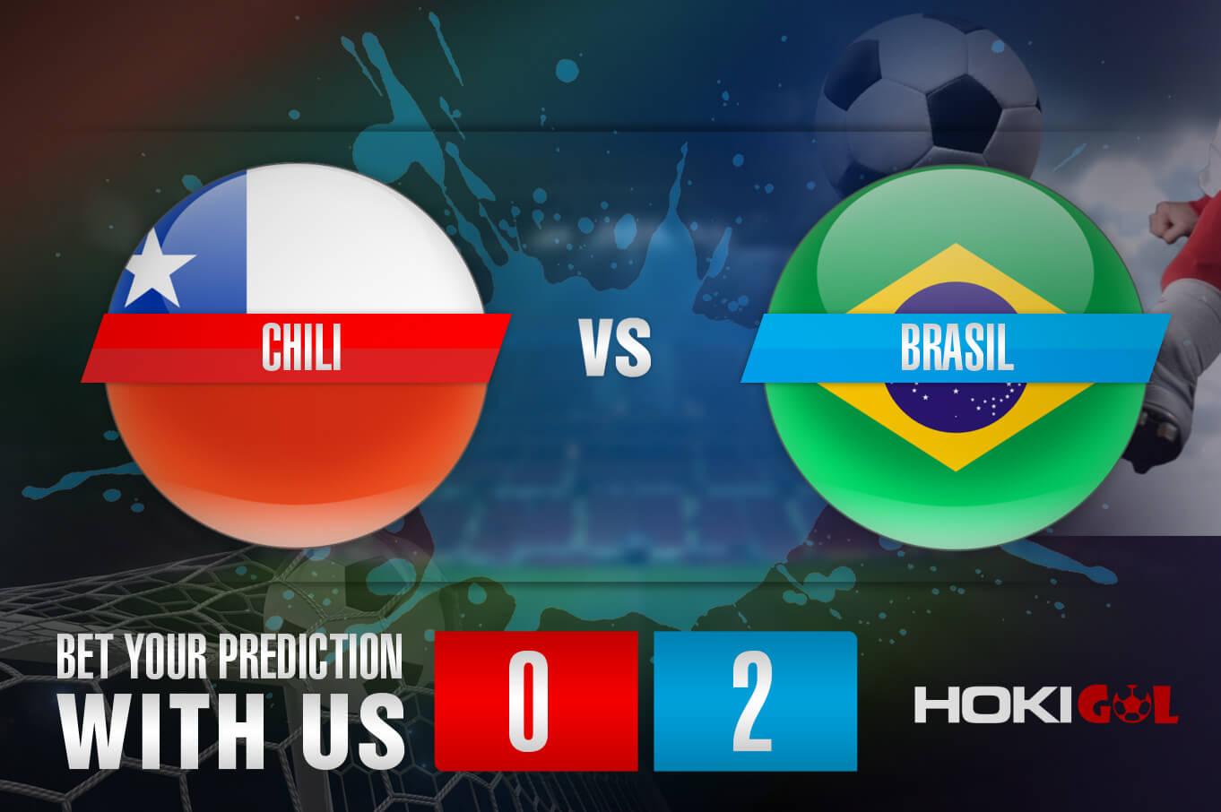 Prediksi Bola Chili Vs Brasil 3 September 2021