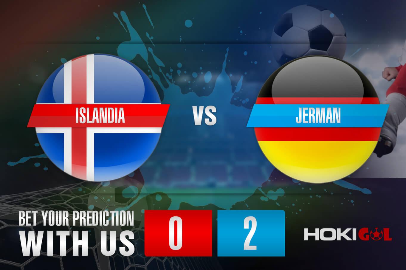 Prediksi Bola Islandia Vs Jerman 9 September 2021