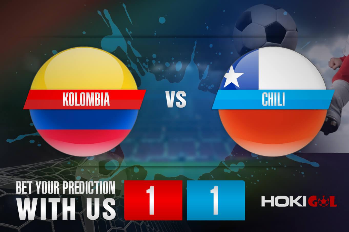 Prediksi Bola Kolombia Vs Chili 10 September 2021