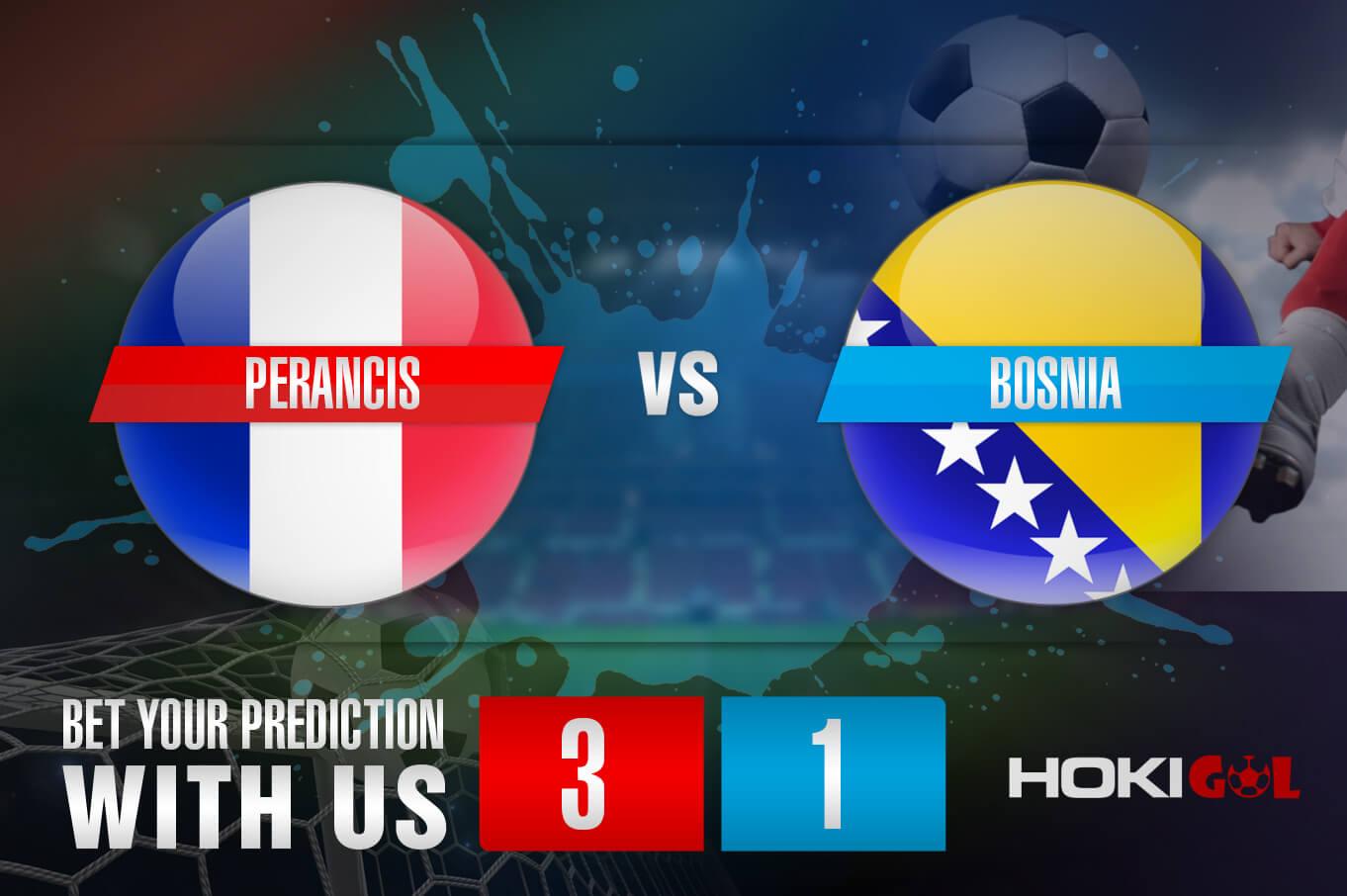 Prediksi Bola Perancis Vs Bosnia 2 September 2021