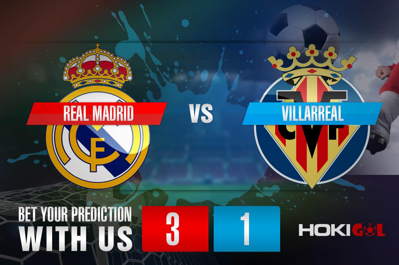 Prediksi Bola Real Madrid Vs Villarreal 26 September 2021