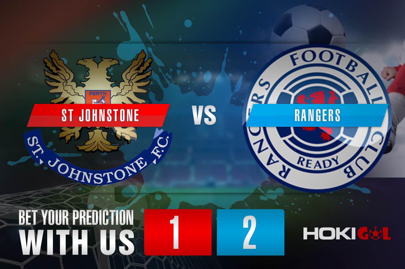 Prediksi Bola St Johnstone Vs Rangers 11 September 2021