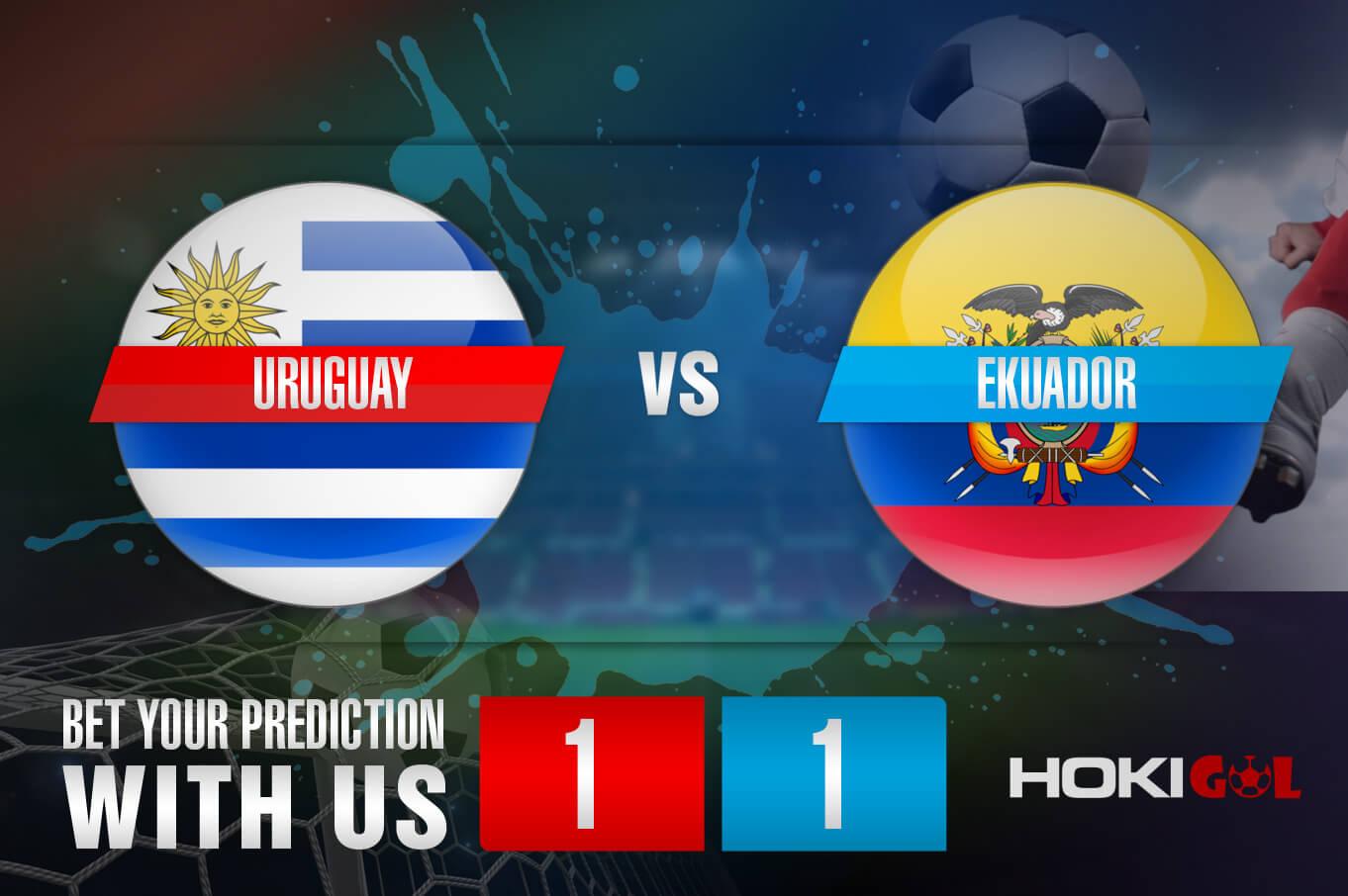 Prediksi Bola Uruguay Vs Ekuador 10 September 2021