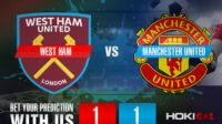 Prediksi Bola West Ham Vs Manchester United 19 September 2021