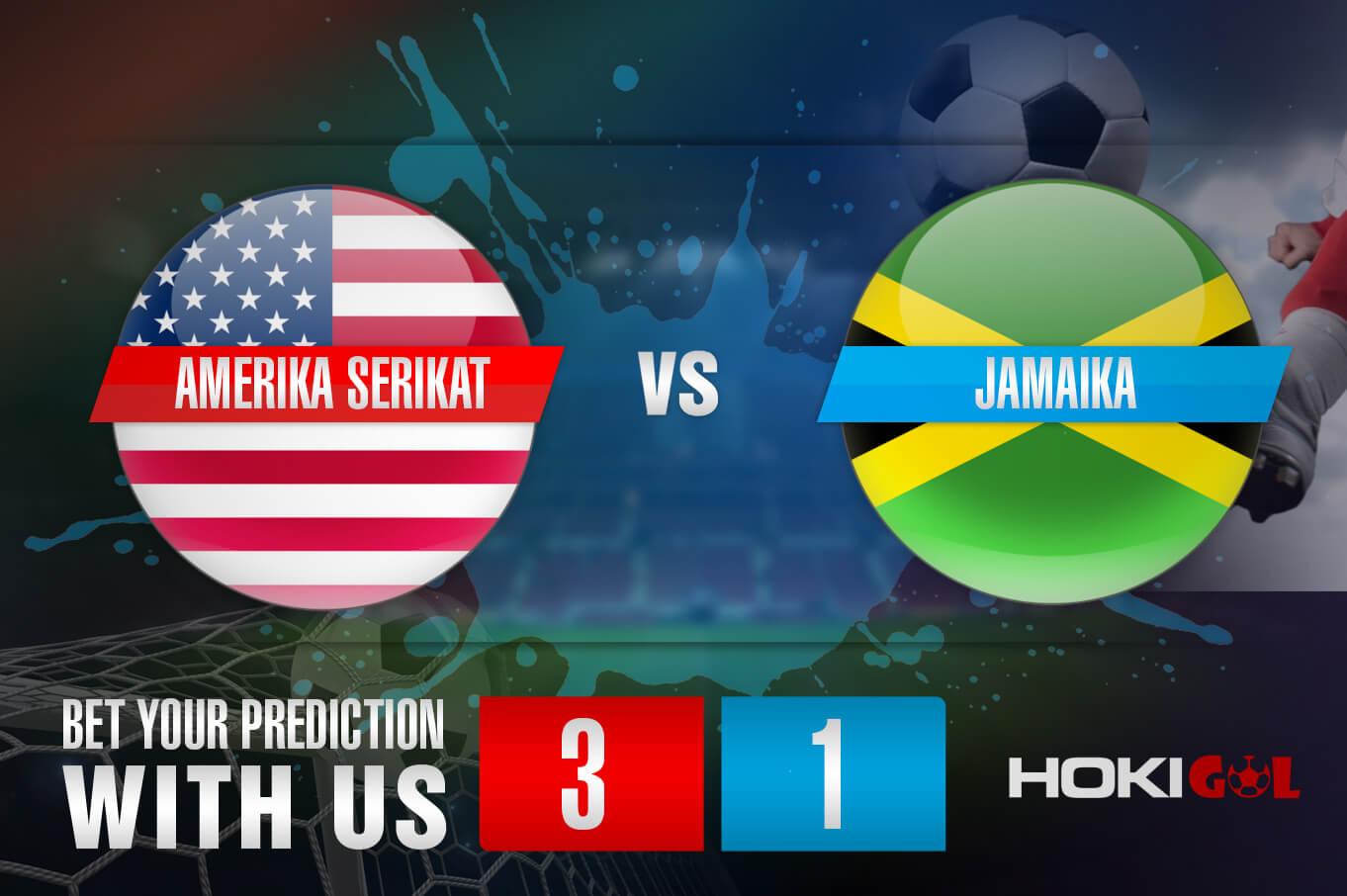 Prediksi Bola Amerika Serikat Vs Jamaika 8 Oktober 2021
