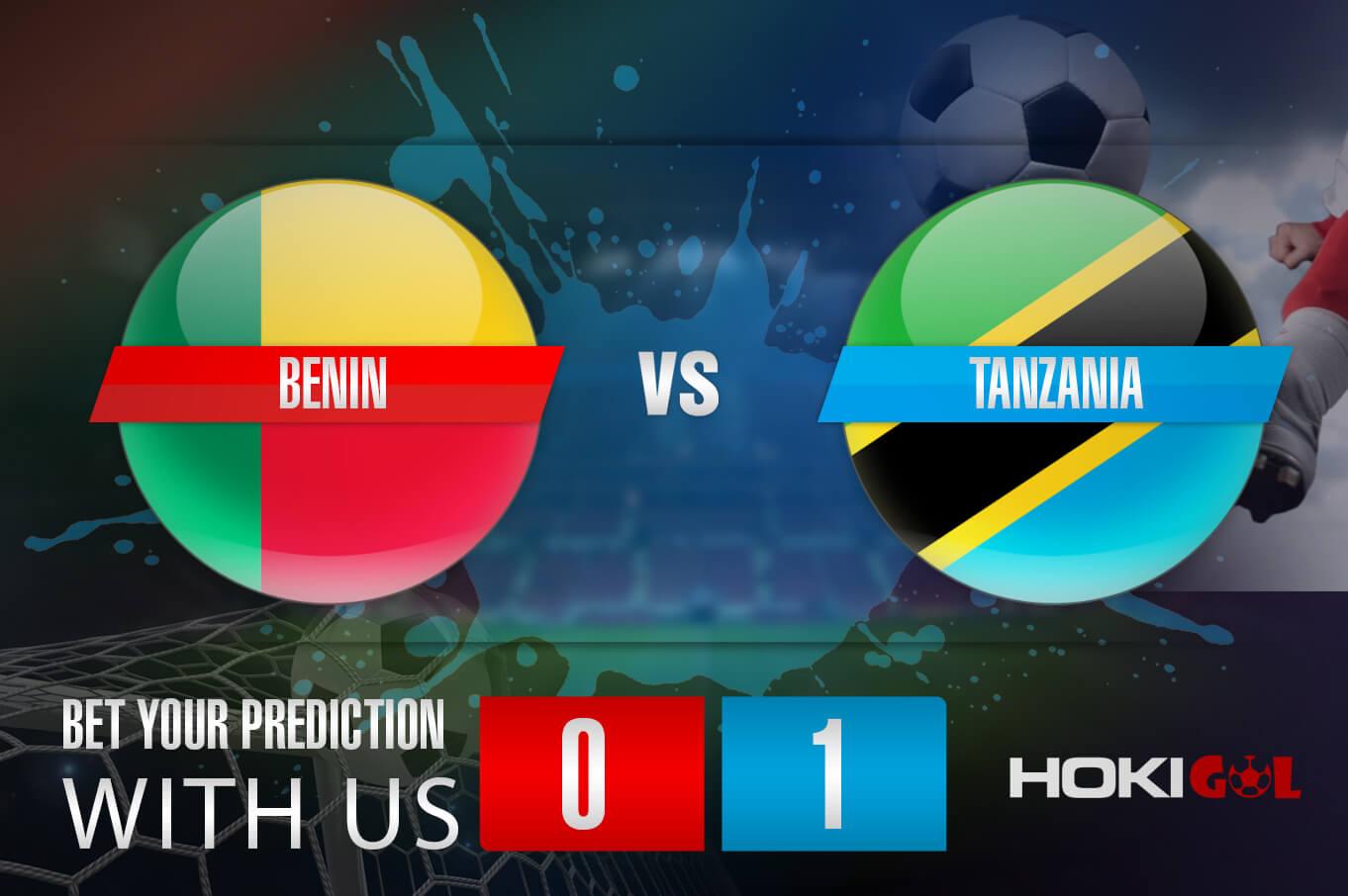 Prediksi Bola Benin Vs Tanzania 10 Oktober 2021