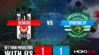 Prediksi Bola Besiktas Vs Sporting CP 19 Oktober 2021