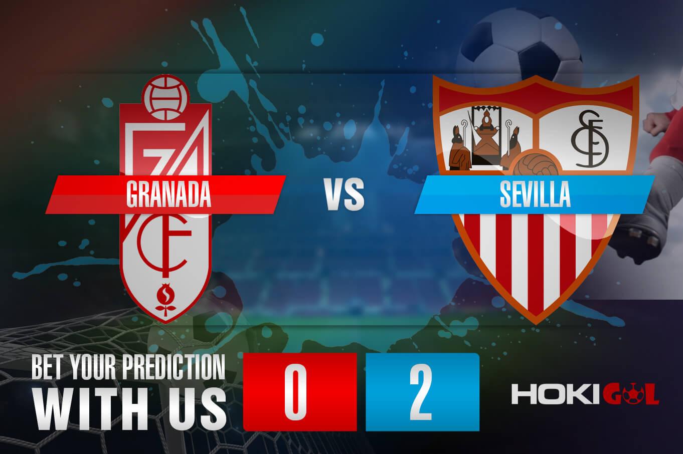 Prediksi Bola Granada Vs Sevilla 4 Oktober 2021