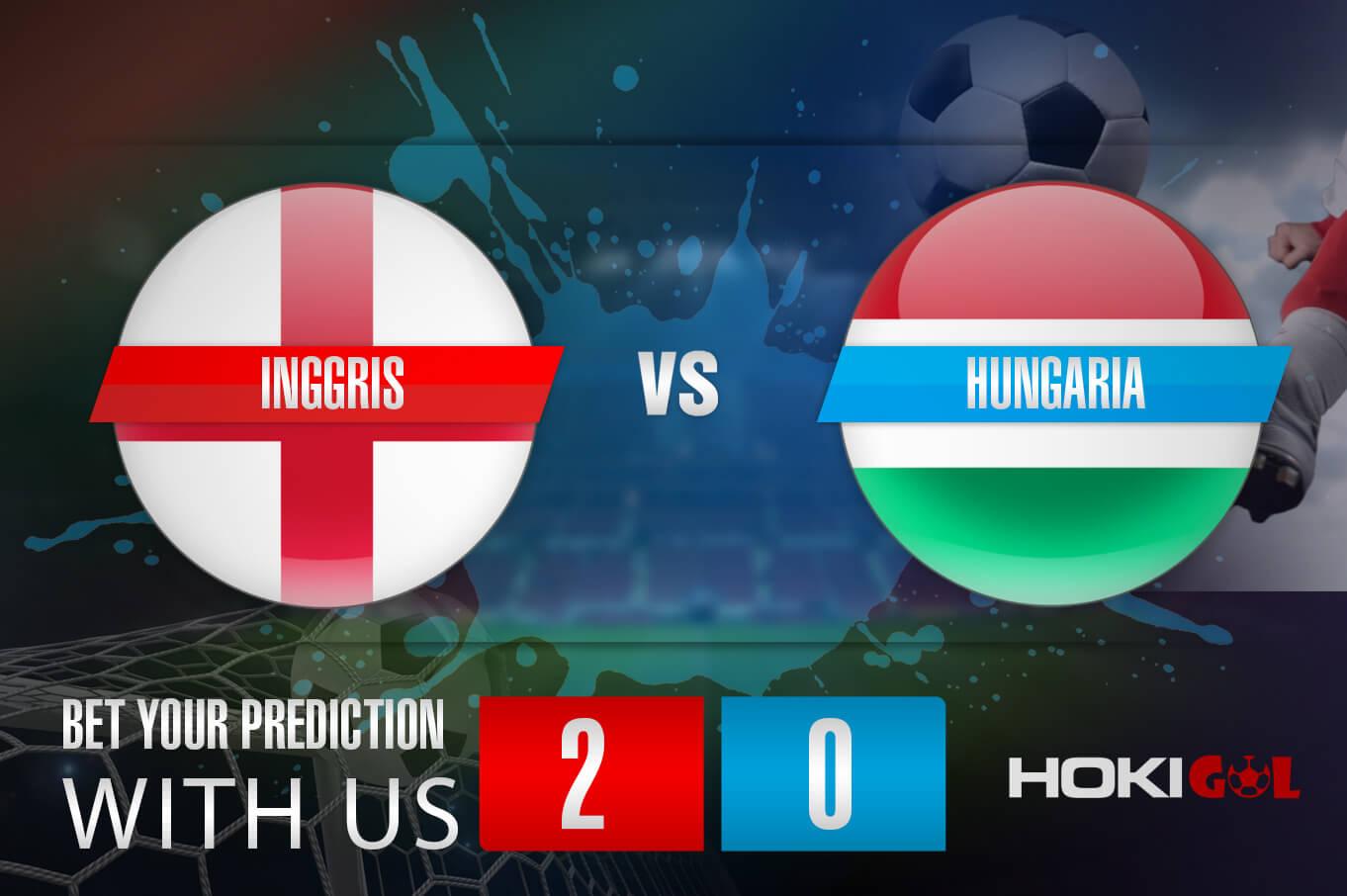 Prediksi Bola Inggris Vs Hungaria 13 Oktober 2021