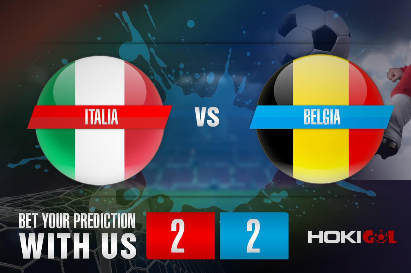 Prediksi Bola Italia Vs Belgia 10 Oktober 2021