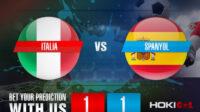 Prediksi Bola Italia Vs Spanyol 7 Oktober 2021