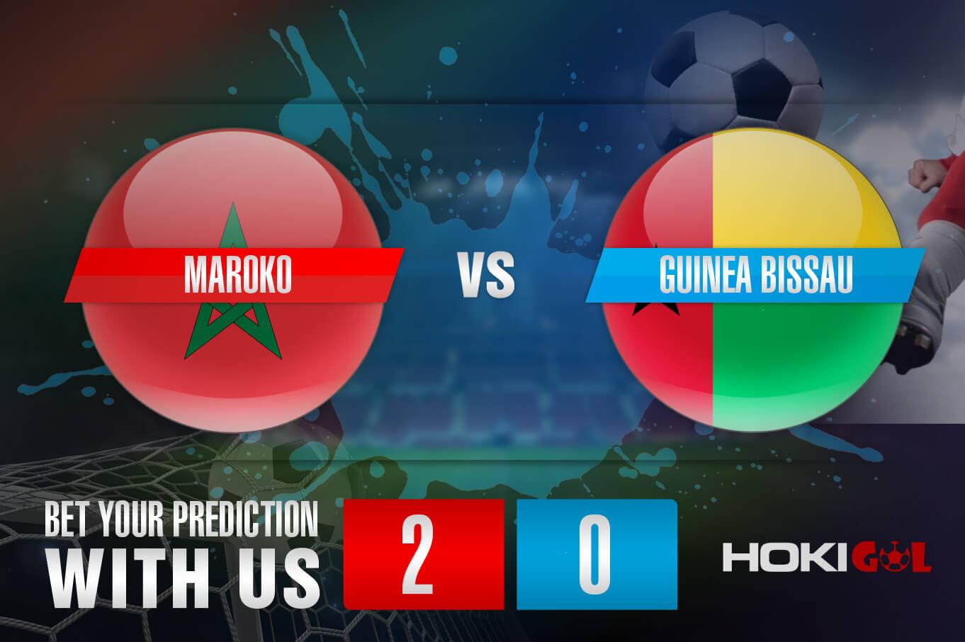 Prediksi Bola Maroko Vs Guinea Bissau 7 Oktober 2021