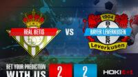 Prediksi Bola Real Betis Vs Bayer Leverkusen 21 Oktober 2021