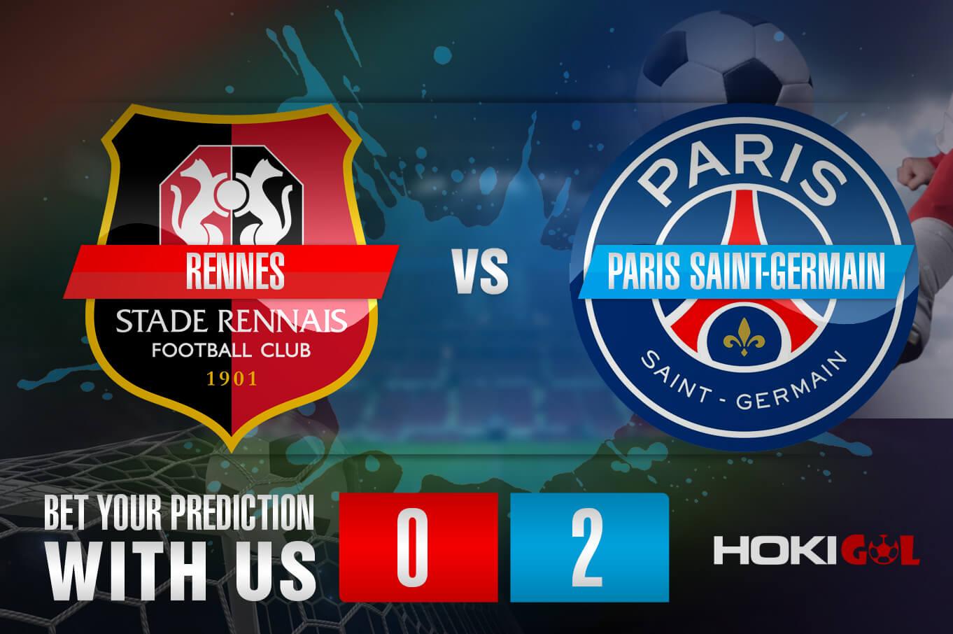 Prediksi Bola Rennes Vs Paris Saint-Germain 3 Oktober 2021